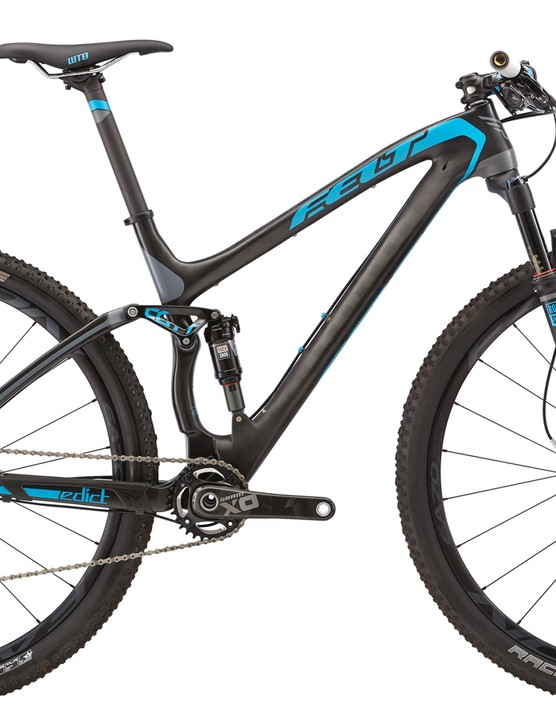 Felt gives the Edict 1 the TexTreme carbon fiber treatment for 2015, which should help shed a few grams as compared to the 2014 model