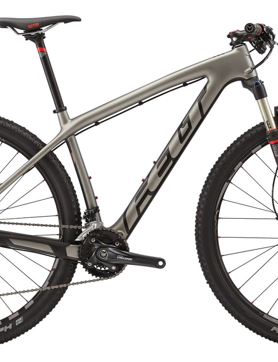 While the 2015 Nine 3 carbon hardtail comes with a mechanical drivetrain, the updated frame is now compatible with Shimano's new Di2 electronic systems
