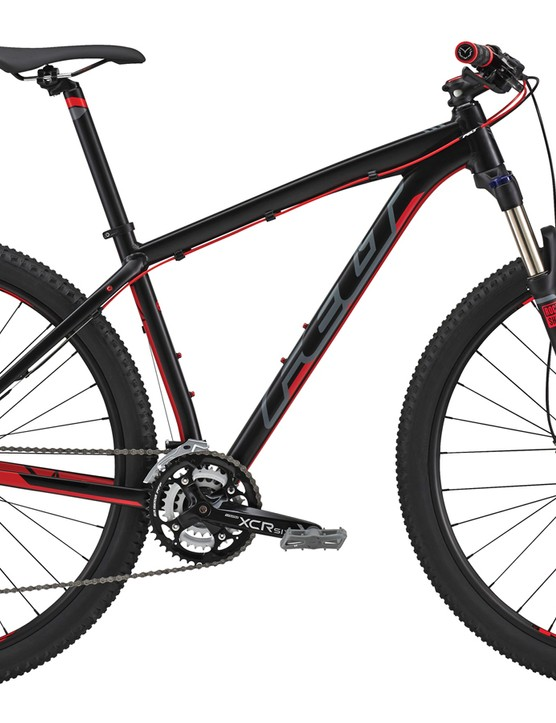 Felt's top-end aluminum 29er hardtail for 2015 is the Nine 60, which is built around a double-butted and hydroformed 6061 alloy frame