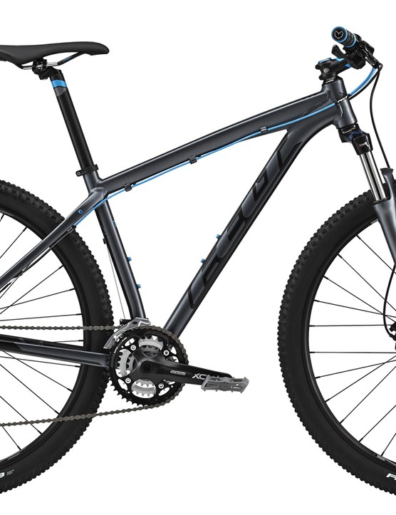 The 2015 Felt Nine 70 sports a hydroformed, single-butted aluminum frame and a very price-conscious build kit for US$749
