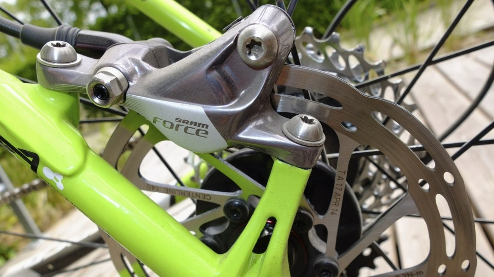 There are still conflicting views on rotor size, depending on application and manufacturer. Matching the right amount of braking power to the rider is key, but shouldn't the bike companies sort this out for us?