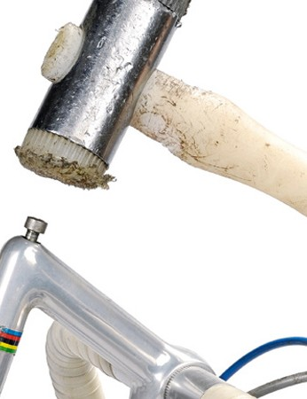 Removing a quill stem will often require a tap with a mallet