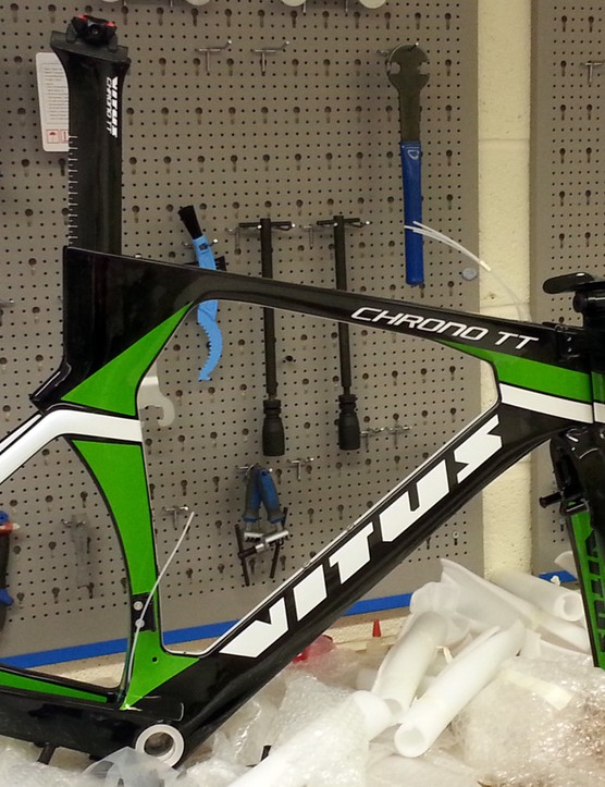 The Vitus Chrono II will be available as a frameset only