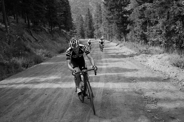A 34-28 was barely just enough to haul my carcass up a 14-percent dirt climb that came 80mi into a nine-hour day