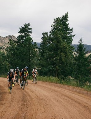 The Rapha Gentlemen's Race format has teams of six riding together throughout the day