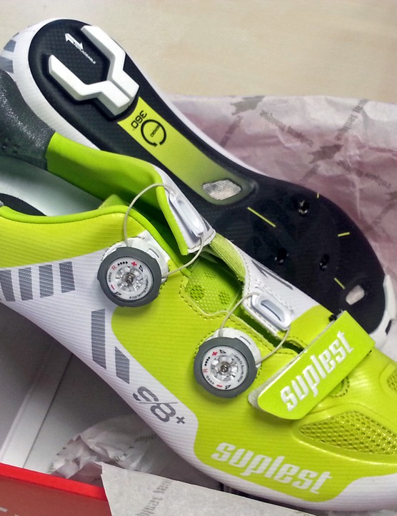 Suplest S8+ Streetracing Carbon shoes, box fresh