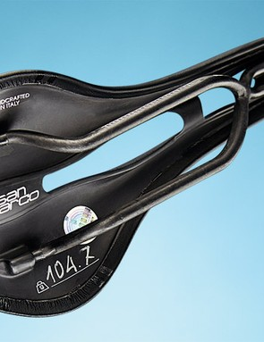 A 100g saddle this comfy is seriously impressive –but only a select few will be able to afford it