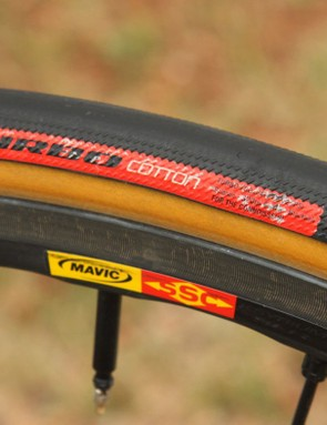Some high-end tyres use cotton casings and natural rubber sidewalls to create a fast-rolling experience