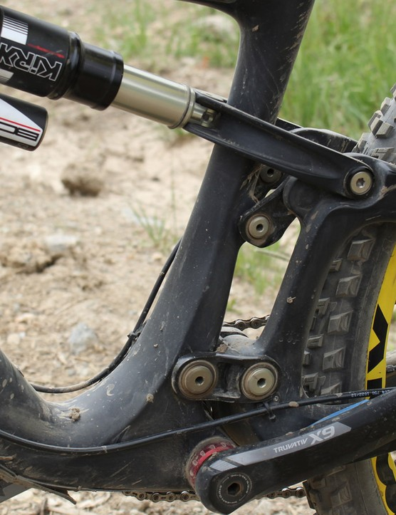 Ibis has reworked the arrangement of its dw-link suspension from previous bikes