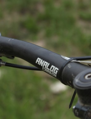 The carbon handlebar is a Joystick Analog
