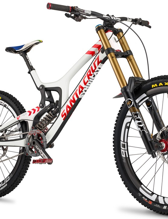 Santa Cruz has just released images of the V10 equipped with 27.5in wheels