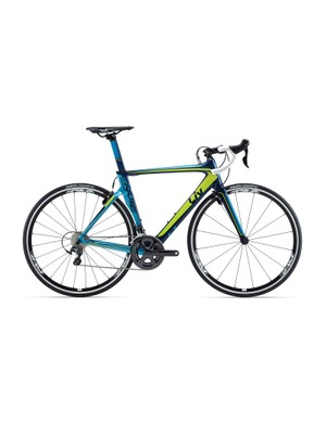 The Liv Envie Advanced 1 (US$2,775 / AU$2,799 / £TBA) uses a slightly cheaper carbon frame to the Pro, but we suspect it will be a popular choice