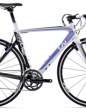 The Liv Envie Advanced 2 (US$2,250 / AU$2,299/ £TBA) is the base-model in the Envie range, it offers a Shimano 105 groupset