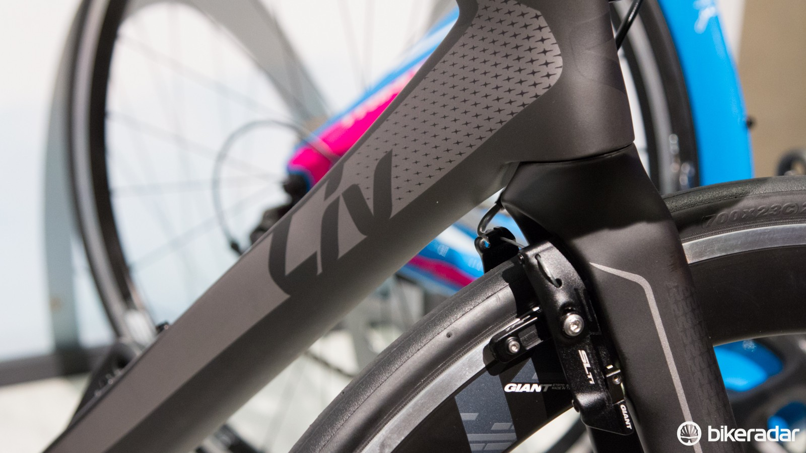 The biggest change to the 2015 Envie lineup is a new brake. Previously the Envie brakes were known to be fiddly and underperforming - these new alloy models should fix that
