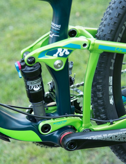 Giant's well-regarded Maestro suspension system is featured on all Liv LUST and Intrigue models