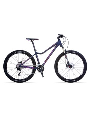 The Liv Tempt is a budget orientated range trail ready 27.5in wheeled hardtails. Pictured is the range-topping Liv Tempt 1 (US$1,700 / AU$1,599 / £TBA)