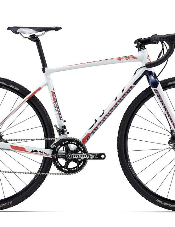 For the cyclocross crowd, there is the Brava SLR. The Brava SLR 1 (US$3,500 / AU$N/A / £TBA) looks ready to race with its Shimano Ultegra gears and matched hydraulic disc brakes