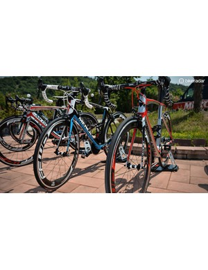 The Mourenx 69 lined up against the San Remo 76