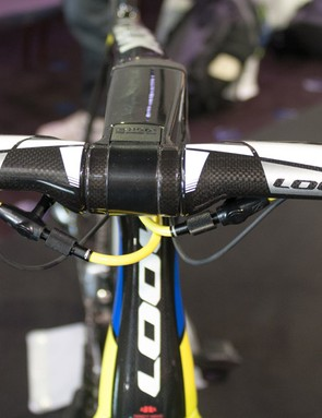 Look's new aero bars present very little surface area to the wind
