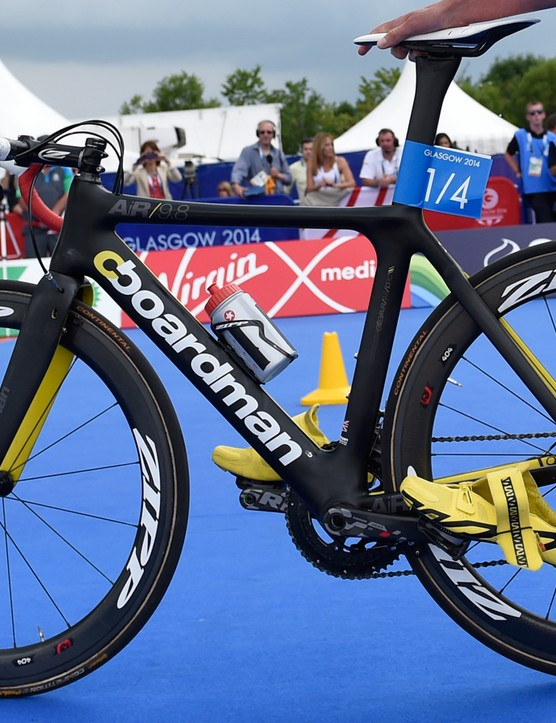 Alistair Brownlee's Boardman AiR 9.8 aero road bike
