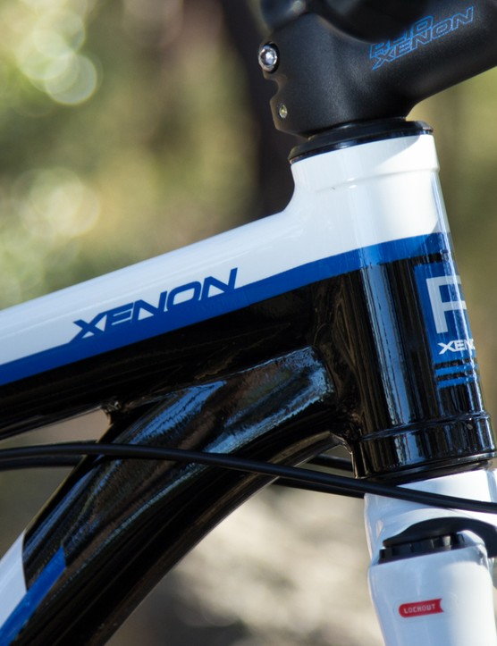 The construction quality on the Reid Xenon 29er frame is nothing to sniff at