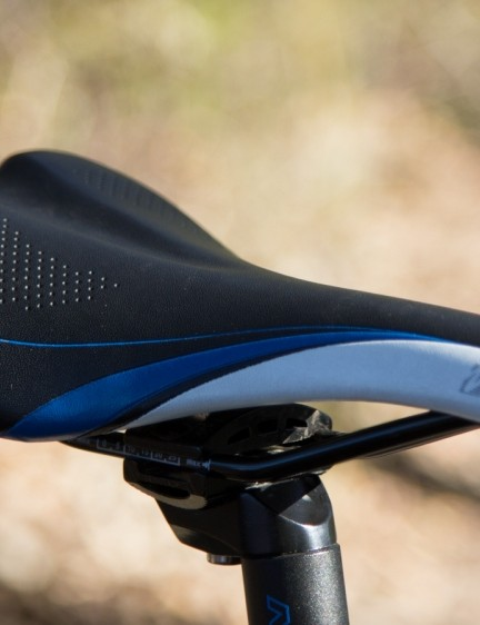 The well-padded saddle will please most riders