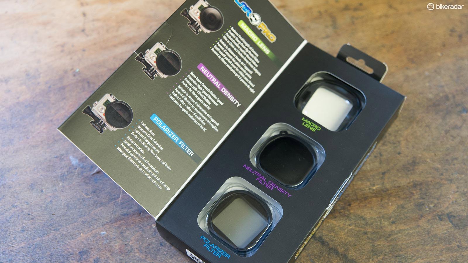 Polar Pro GoPro Hero 3+ filter three pack