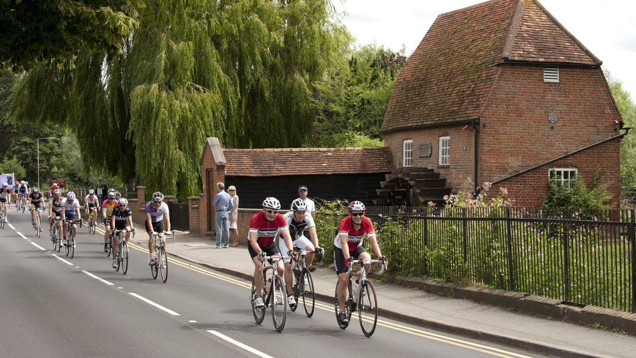 Traffic-free rural landscapes await in Surrey