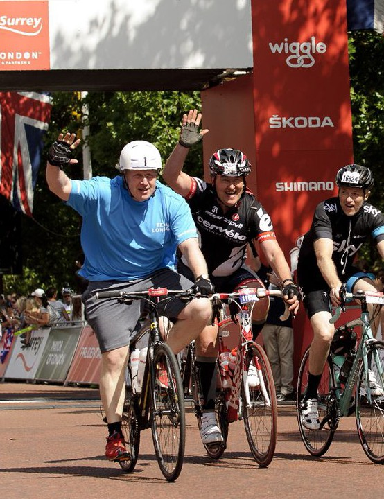 Even Mayor of London Boris Johnson got involved in the 2013 event