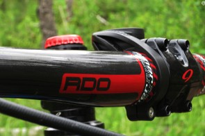 Niner also makes components, such as the RDO carbon handlebar, available in 720mm and 780mm lengths