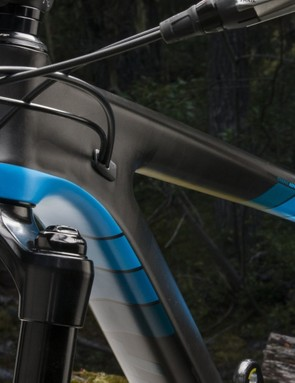 Internal cable routing is neat and tidy, and helps put the cables in a good position