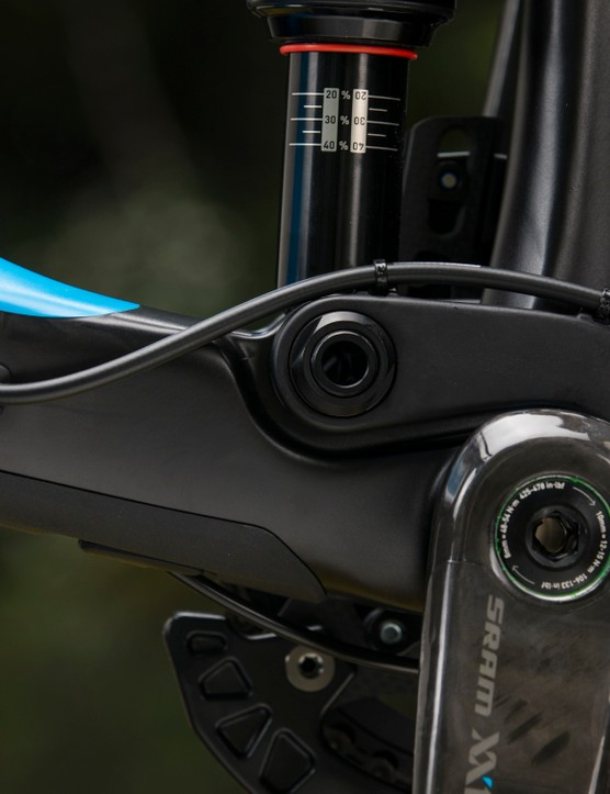 The Maestro suspension system works well. It not only resists pedal induced movement, but works very well under braking