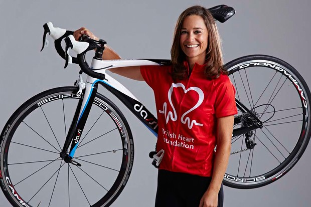 Pippa Middleton completed the 3,020-mile Race Across America in six days 10 hours
