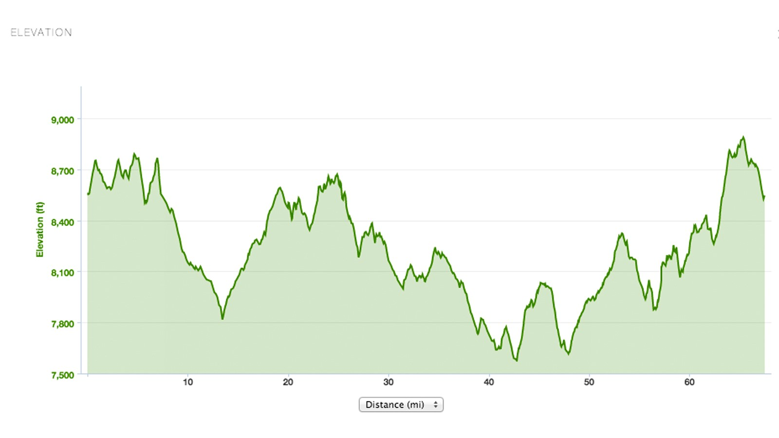 If faced with this sort of course profile for a 111km-long mountain bike race, what sort of bike would you ride?