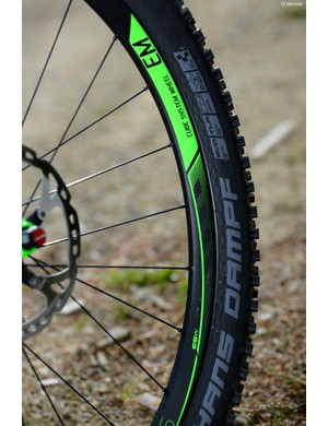 The EM Cube System wheels might be OEM models, but after hammering a pair of these for two years, we know they're built to take a beating. They are tubeless compatible right from the off too