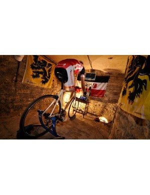 Interactive games such as Zwift have made indoor training much more bearable