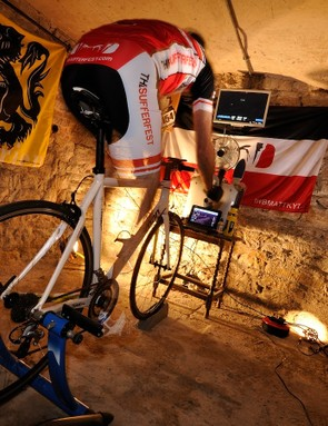 A good pain cave can be the difference between enjoyable and miserable training time
