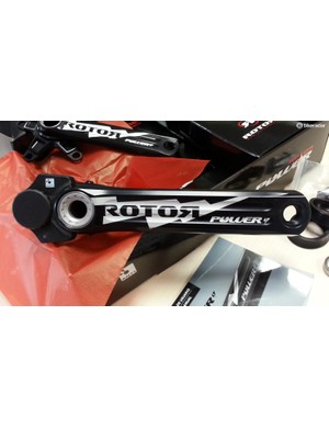 The crank arm is exactly the same as the full version of the Rotor power system