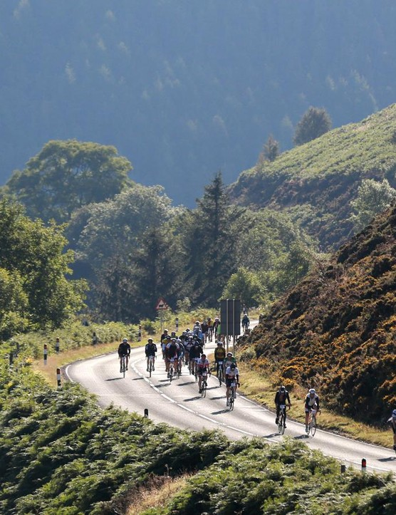 The route takes in some of North Wales' most spectacular climbing
