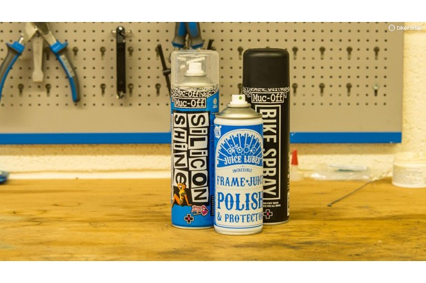 Polish protects your bike against corrosion