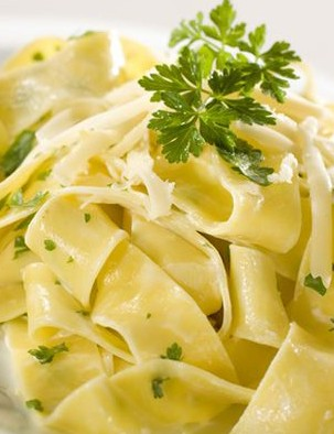 Pasta is both carbohydrate-rich and easily portable