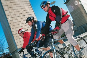 Riding your bike is a great way to reduce stress