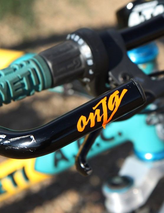 Onza bar ends were practically standard-issue on every high-end mountain bike in the early 1990s