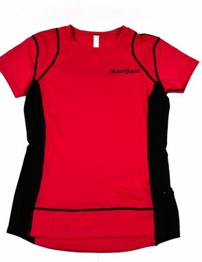 The Race Face Piper Women's jersey is a lightweight, little-fuss trail top