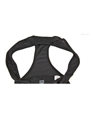 Mesh bib straps are comfortable and breathable