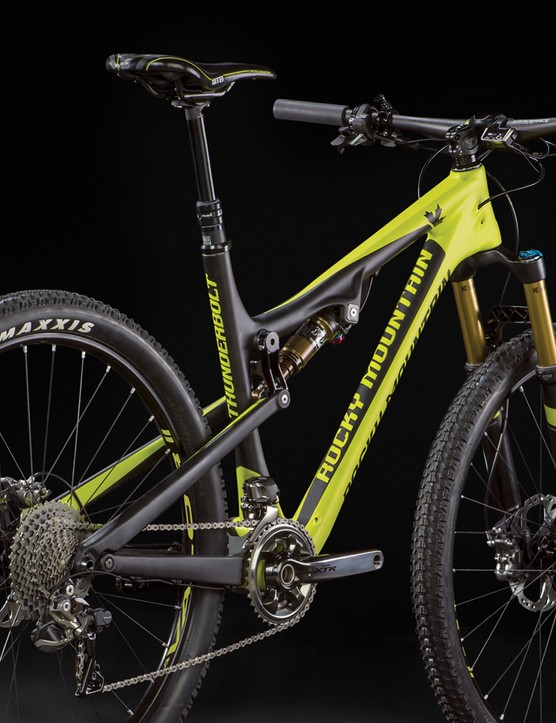 The new Rocky Mountain Thunderbolt 799 MSL is a XTR Di2 equipped weapon, luckily (for many) there's cheaper options too