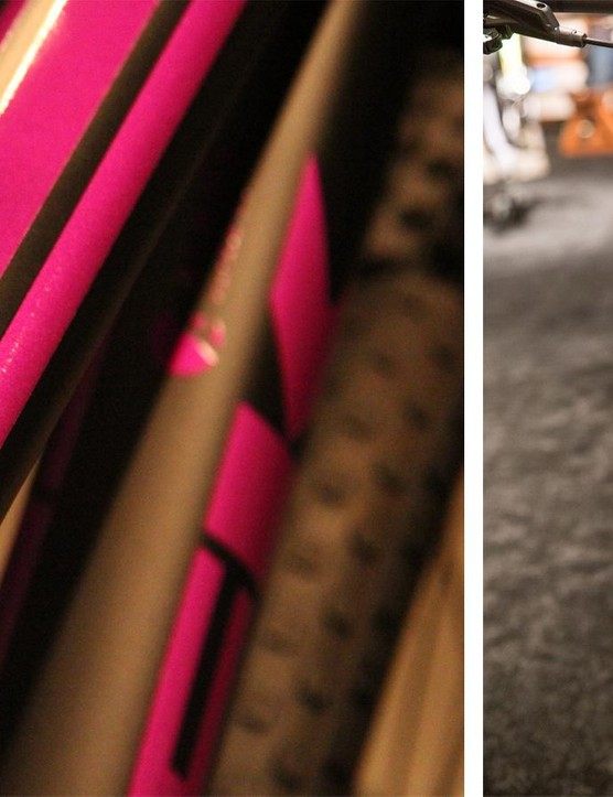 The Superfly SS has a black and purple paint scheme reminiscent of the 2005 Fisher Rig