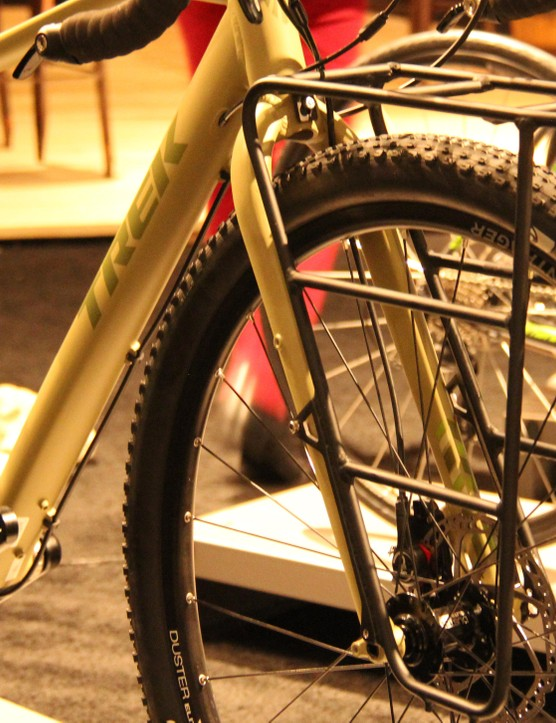 The front rack system of the new Trek 920