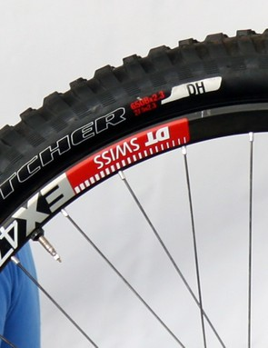 Specialized previously announced a new 27.5in size for the Butcher Control but it's now clearly joined by a burlier DH version with a more heavily reinforced casing for gravity use
