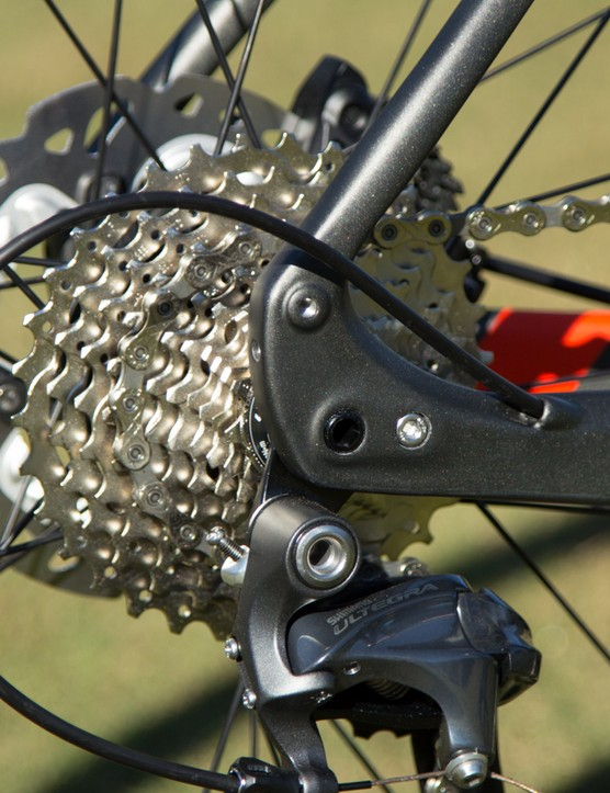 All Specialized Diverge models feature 11-32T wide-range gearing at the rear and 50/34 compact gearing at the front (the Carbon Di2 model uses 52/36 gearing)